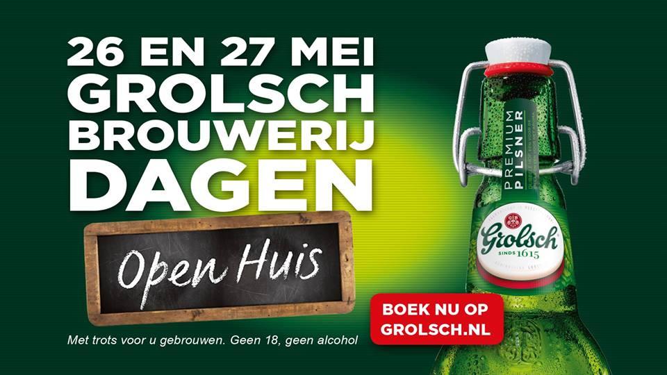 Grolsch Brouwerijdagen 26 en 27 mei 2016