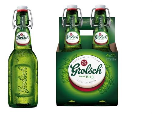 Grolsch vernieuwt verpakkingen voor pils en speciaalbieren
