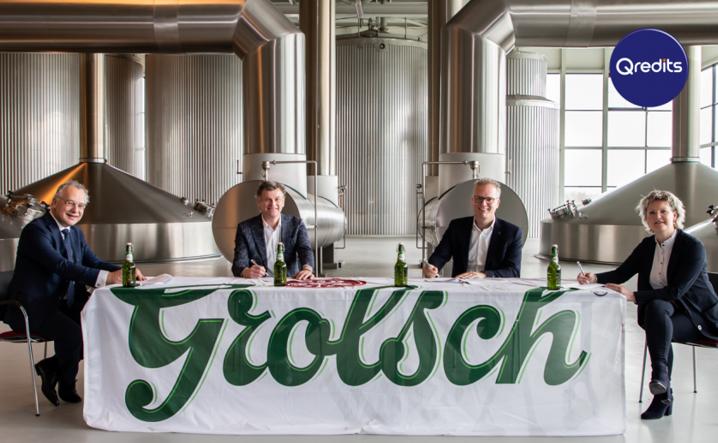 Koninklijke Grolsch en Qredits slaan handen ineen voor financiering horeca